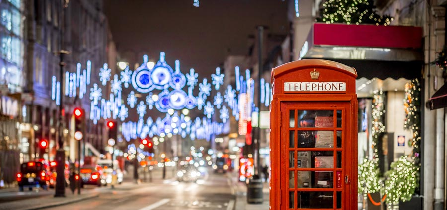 Weihnachtsshopping in London